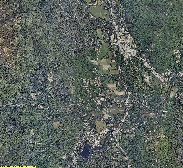 Carroll County, New Hampshire aerial photography