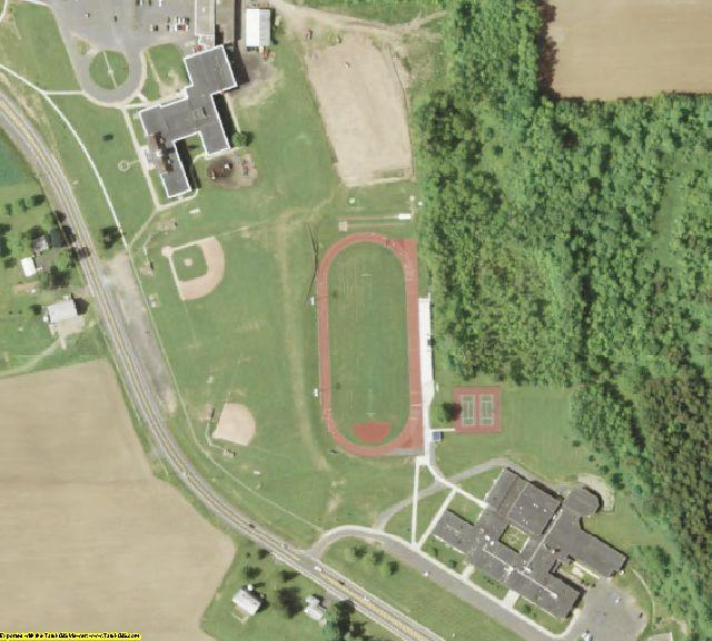 Cayuga County, NY aerial photography detail