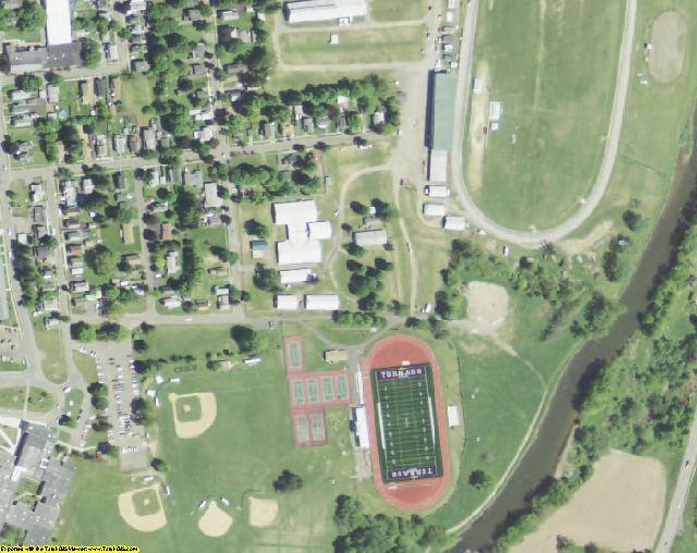 Chenango County, NY aerial photography detail