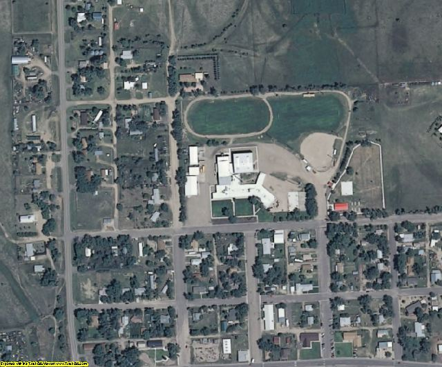 Cheyenne County, CO aerial photography detail