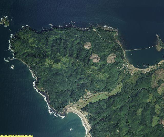 Clallam County, Washington aerial photography