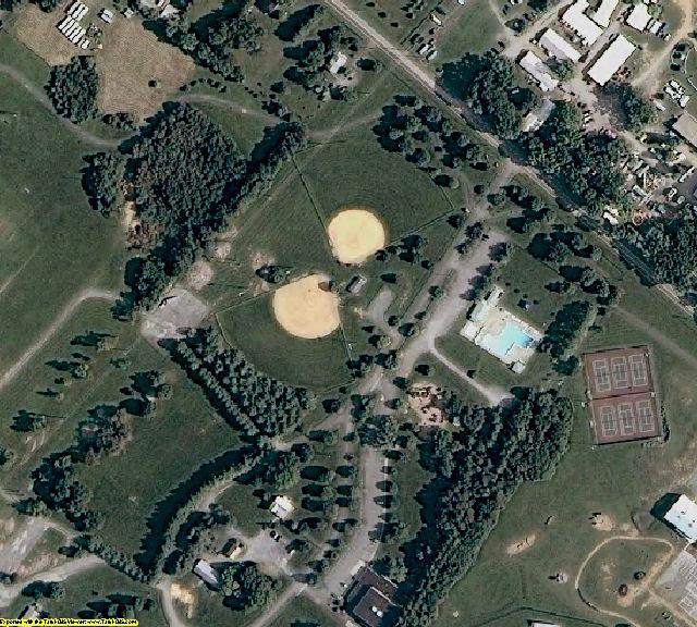 Clarke County, VA aerial photography detail