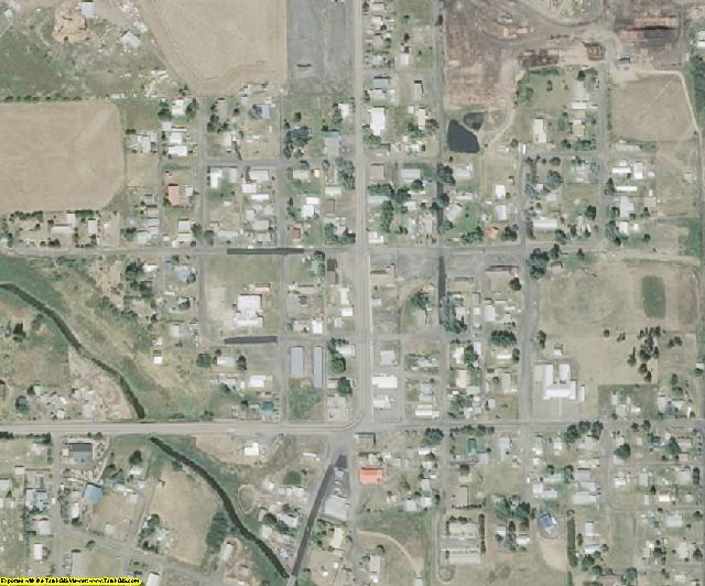 Clearwater County, ID aerial photography detail