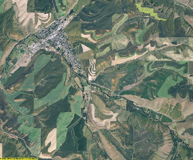 Columbia County, Washington aerial photography