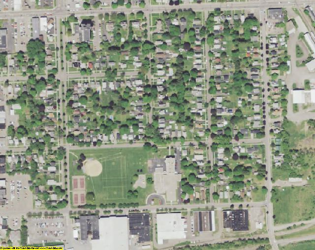 Cortland County, NY aerial photography detail
