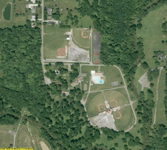 Crawford County, OH aerial photography detail
