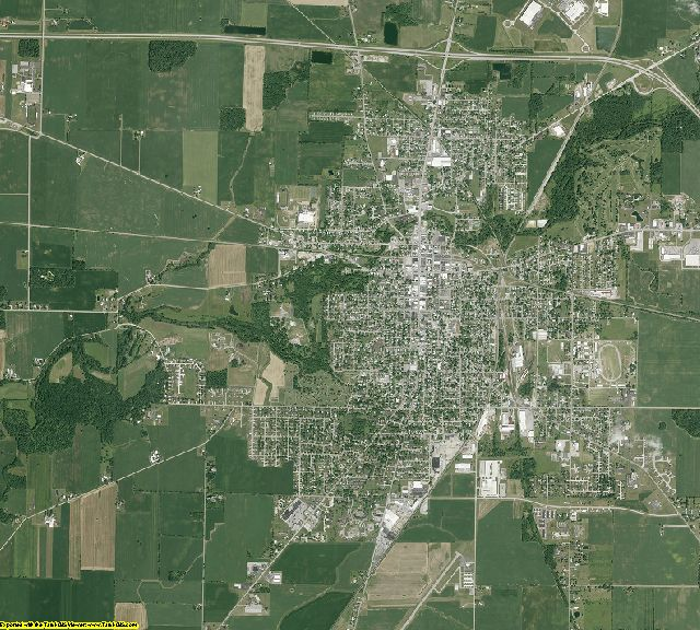 Crawford County, Ohio aerial photography
