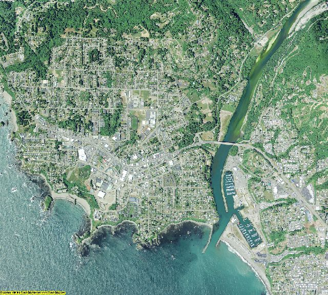 Curry County, Oregon aerial photography