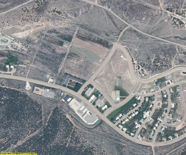 Daggett County, UT aerial photography detail
