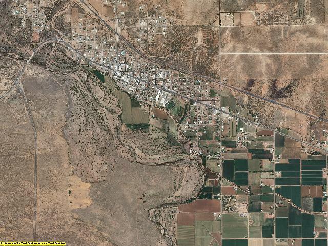 De Baca County, New Mexico aerial photography
