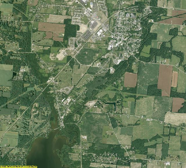 Delaware County, Ohio aerial photography
