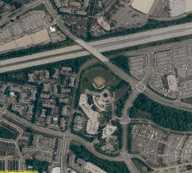 Fairfax County, VA aerial photography detail