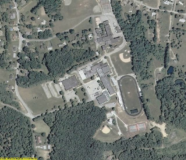 Floyd County, VA aerial photography detail