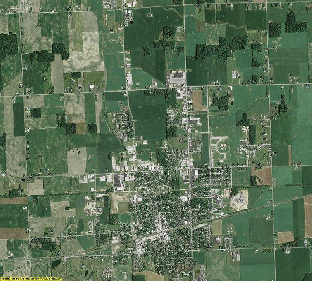 Fulton County, Ohio aerial photography