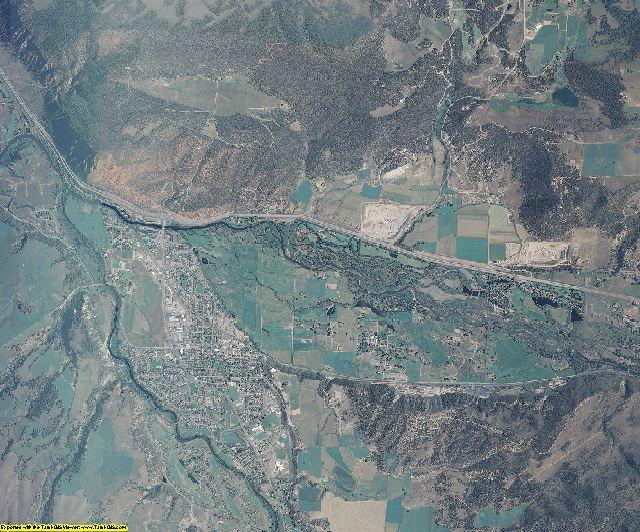 Garfield County, Colorado aerial photography