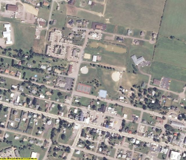 Garrett County, MD aerial photography detail