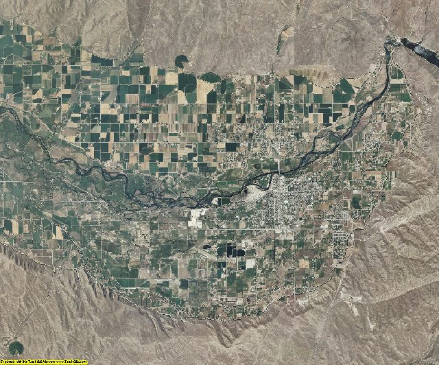 Gem County, Idaho aerial photography