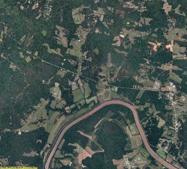 Goochland County, Virginia aerial photography