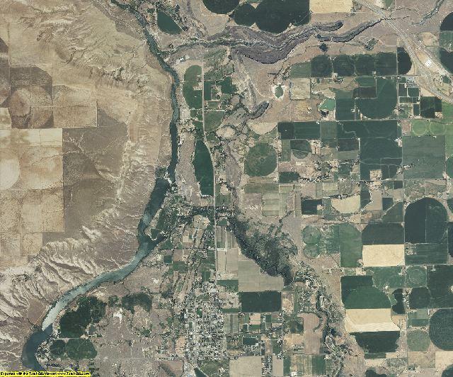 Gooding County, Idaho aerial photography