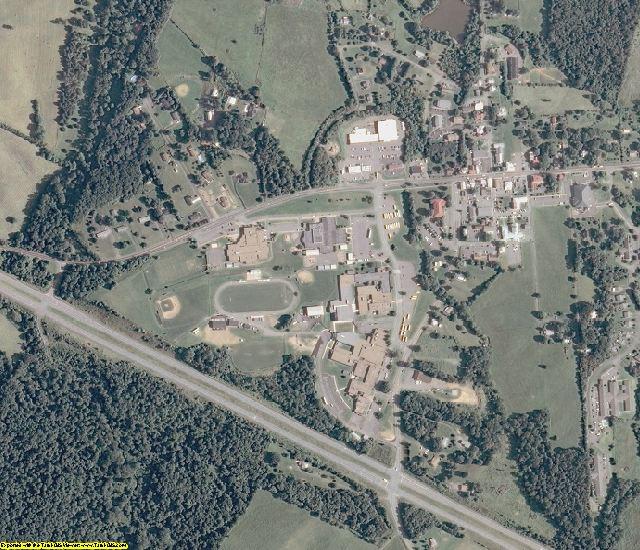Greene County, VA aerial photography detail