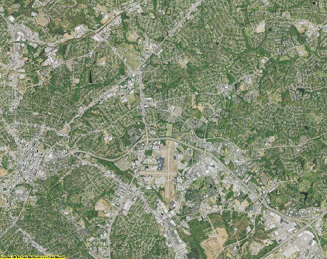 Greenville County, South Carolina aerial photography