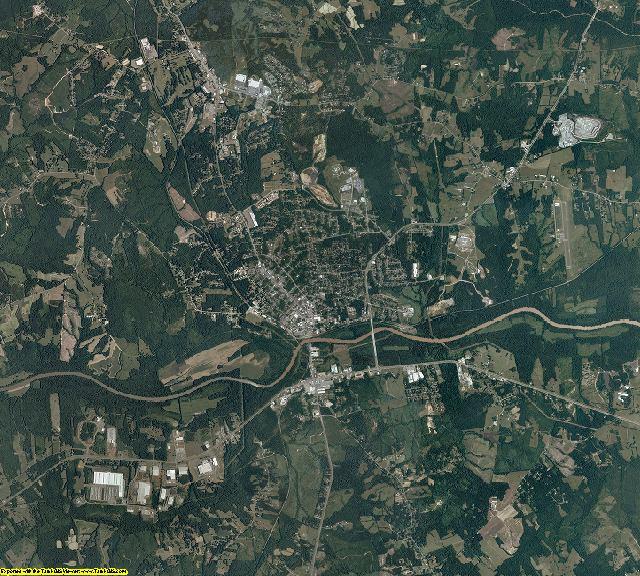 Halifax County, Virginia aerial photography