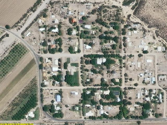Hidalgo County, NM aerial photography detail