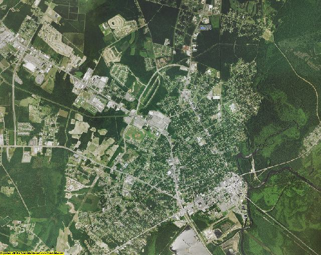 Horry County, South Carolina aerial photography