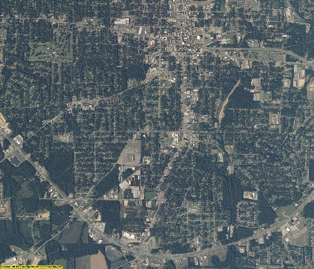 Houston County, Alabama aerial photography