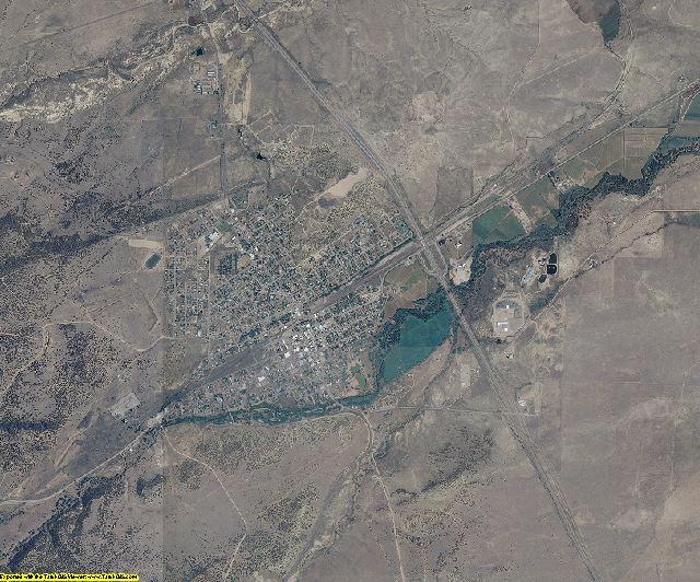 Huerfano County, Colorado aerial photography