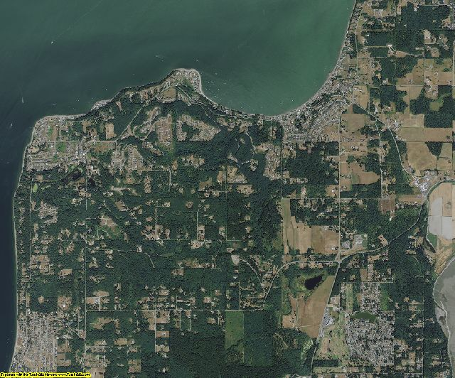 Island County, Washington aerial photography