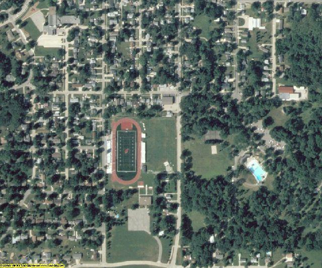 Jasper County, IA aerial photography detail