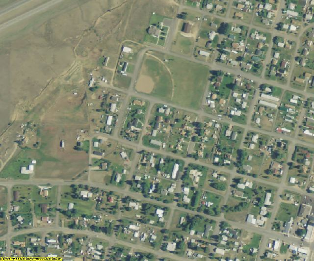 Jefferson County, MT aerial photography detail