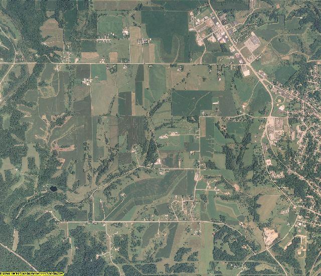 Jo Daviess County, Illinois aerial photography