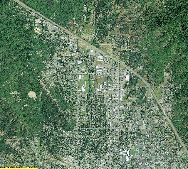 Josephine County, Oregon aerial photography