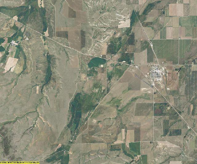 Judith Basin County, Montana aerial photography