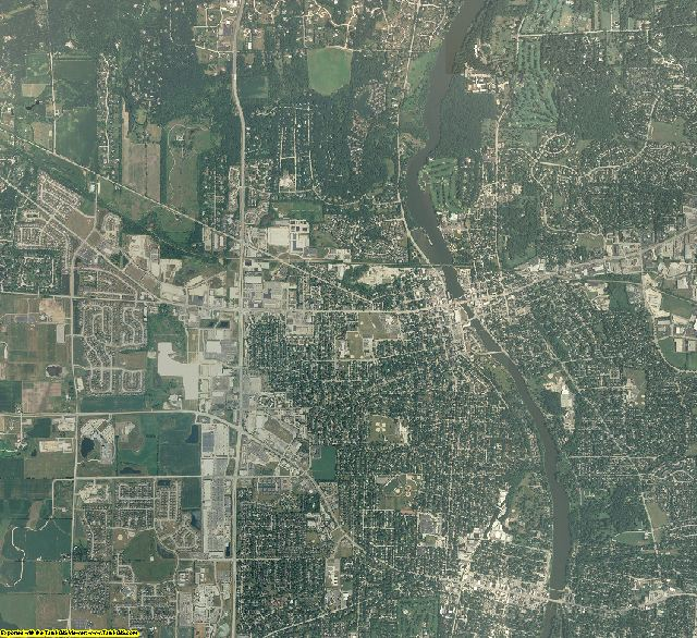 Kane County, Illinois aerial photography