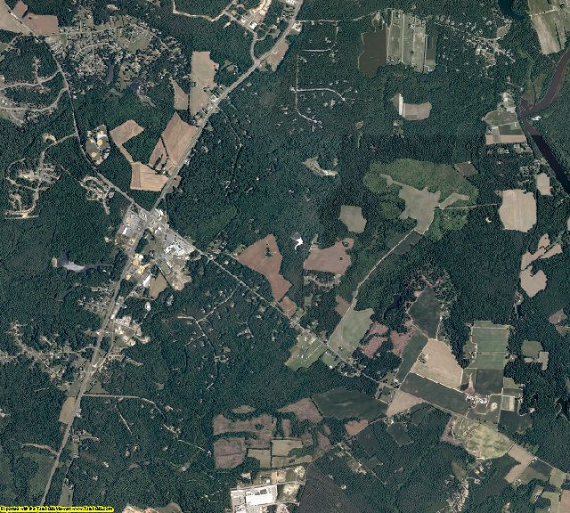 King William County, Virginia aerial photography