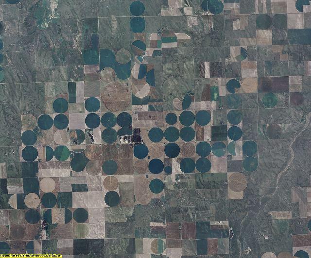 Kit Carson County, Colorado aerial photography