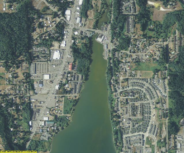 Kitsap County, WA aerial photography detail