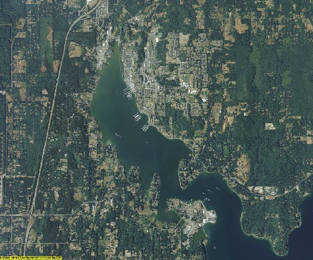 Kitsap County, Washington aerial photography