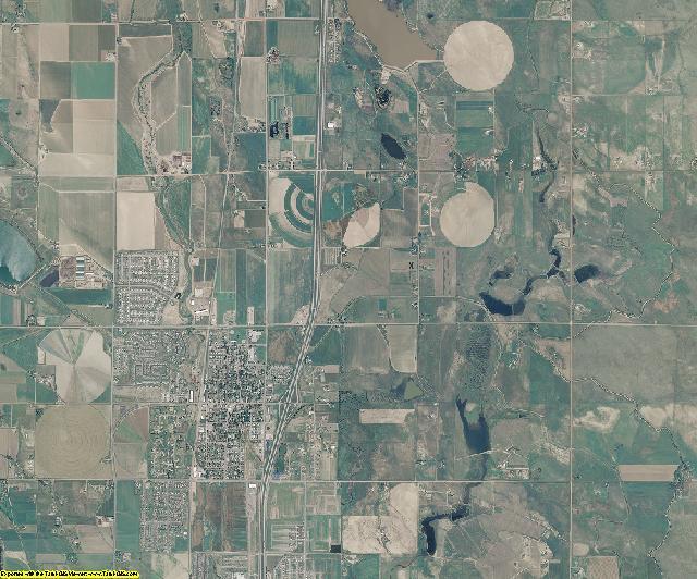 Larimer County, Colorado aerial photography