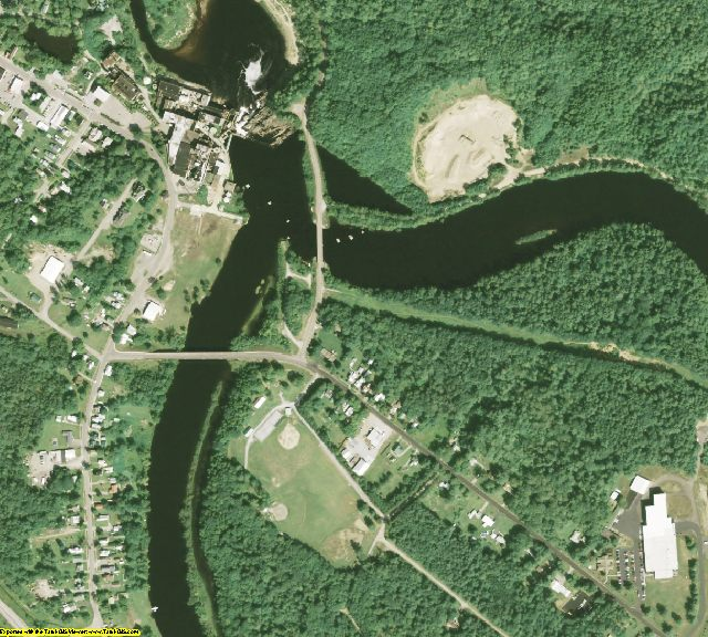 Lewis County, NY aerial photography detail