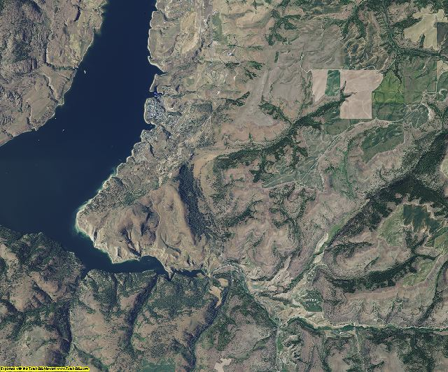 Lincoln County, Washington aerial photography