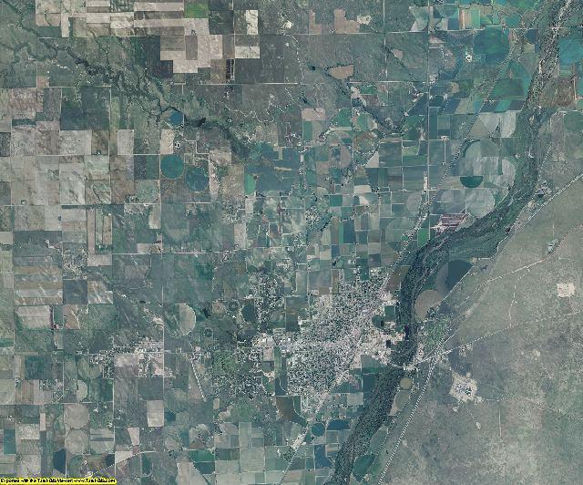 Logan County, Colorado aerial photography