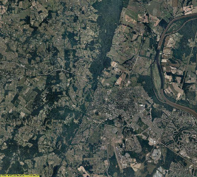 Loudoun County, Virginia aerial photography