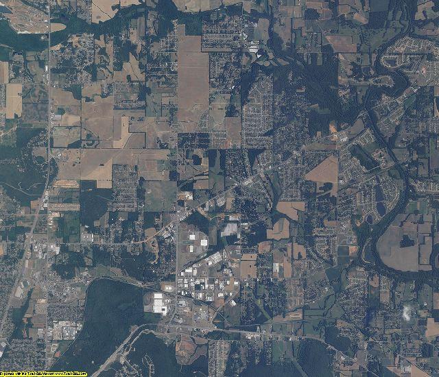 Madison County, Alabama aerial photography