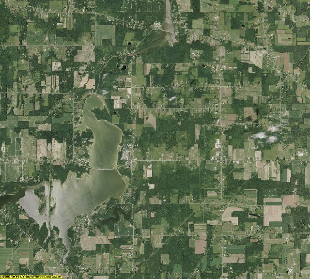 Mahoning County, Ohio aerial photography