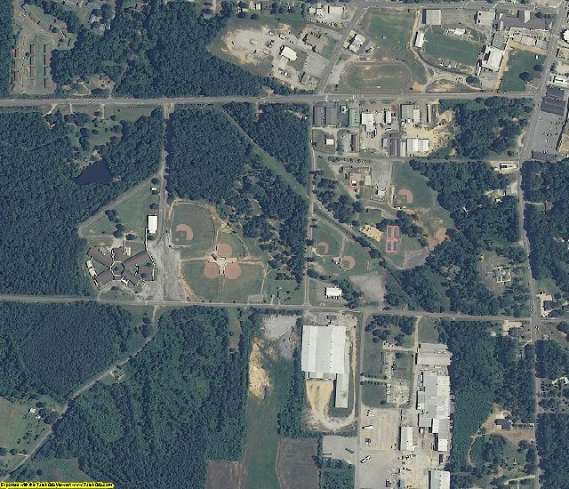 Marion County, AL aerial photography detail