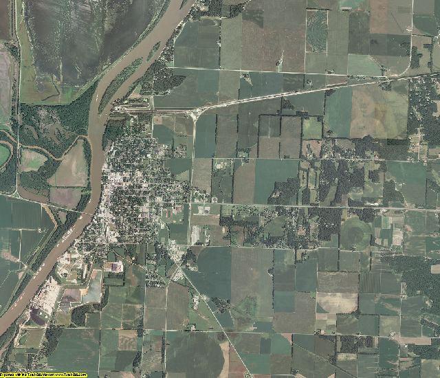 Mason County, Illinois aerial photography